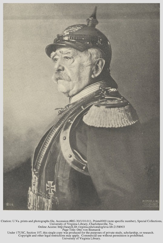 otto von bismarck and bismarckian germany Otto von bismarck (otto eduard leopold fürst von bismarck  bismarck and the development of germany 3 vols (1963–90) the standard scholarly biography.